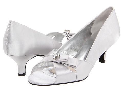 Pantofi Bouquets - Ada - Silver Satin