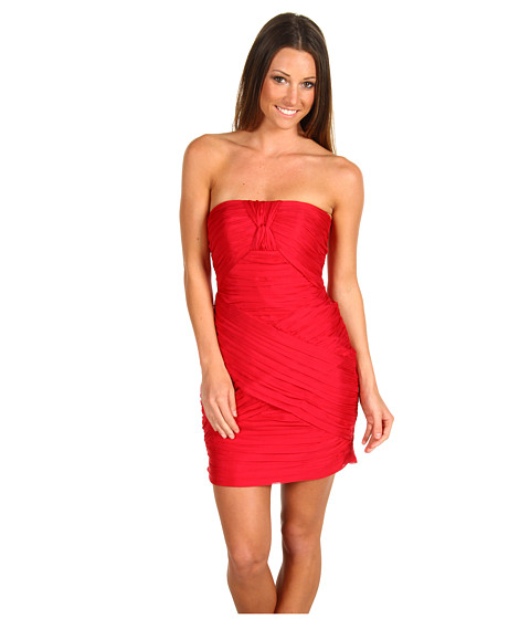 Rochii ABS Allen Schwartz - Sweetheart Strapless Dress - Garnet