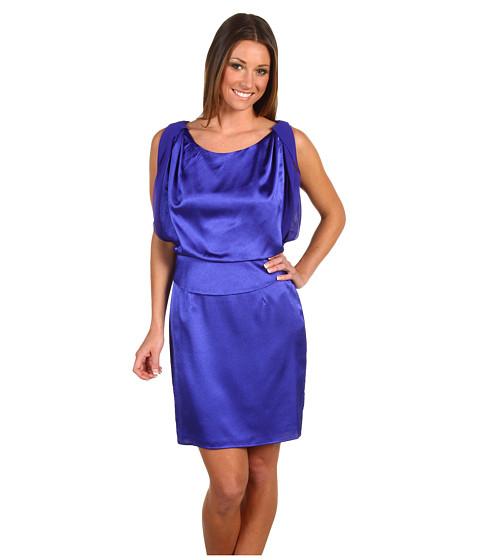 Rochii Jessica Simpson - Blouson Sleeveless Dress - Royal