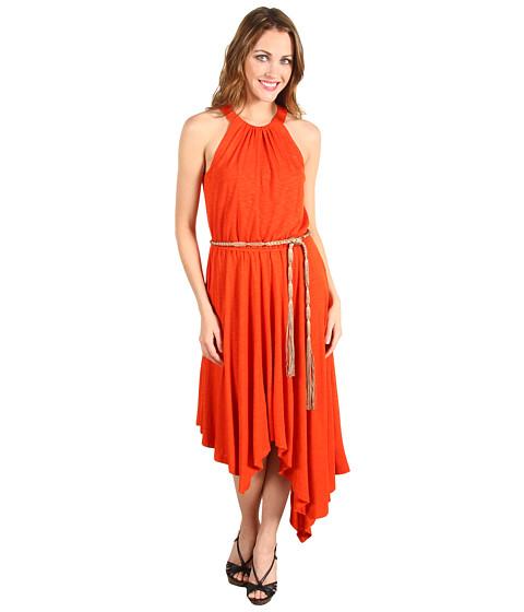 Rochii Jessica Simpson - Sleeveless Asymmetrical Hem Dress - Red