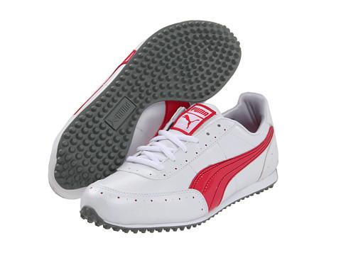 Adidasi PUMA - Golf Cat 2 - White/Rouge Red/Rio Red