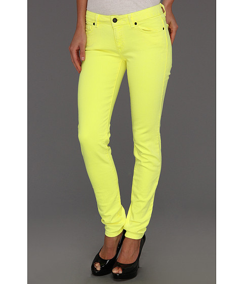 Blugi Michael Kors - Jewels Denim Colored Skinny Jean - Cadmium Yellow
