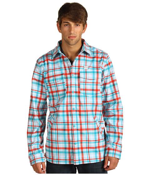 Camasi DC - Bansko L/S Shirt - Gingham Misty Fire