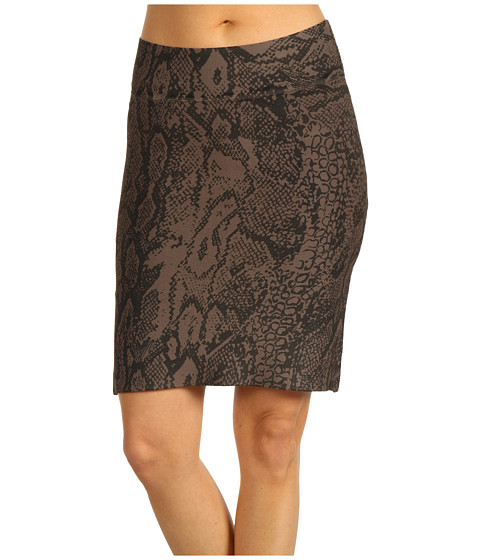 Fuste BCBGMAXAZRIA - Full Needle Power Skirt w/Print - Dusty Olive Combo