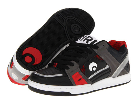 Adidasi Osiris - JOS1 - Black/Charcoal/Red