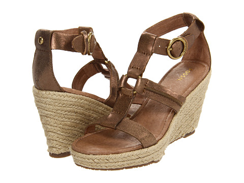 Sandale Fossil - Selena Wedge - Antique Gold