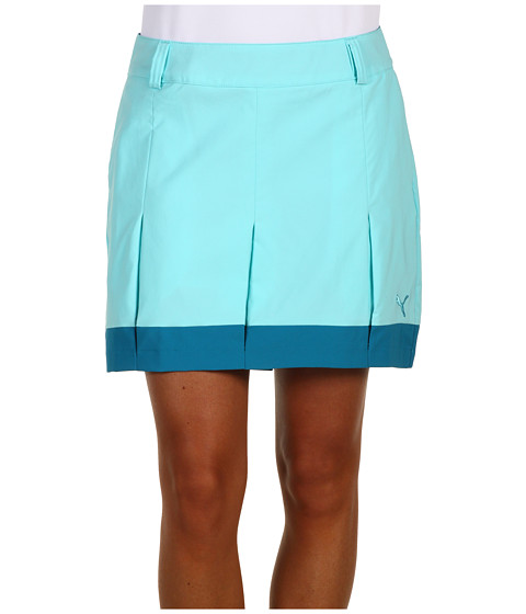 Pantaloni PUMA - Golf Pleated Tech Skort - Blue Radiance