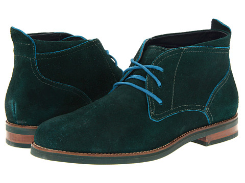 Ghete Cole Haan - Air Charles Chukka - Bottle Green Suede