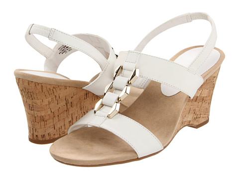 Sandale Anne Klein - Custom - White Leather