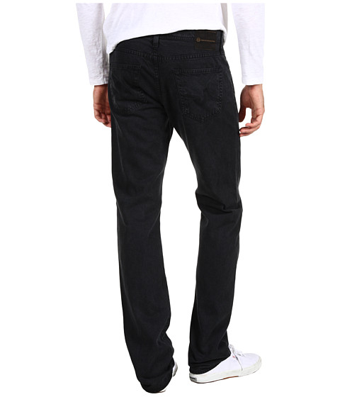 Pantaloni AG Adriano Goldschmied - Matchbox Slim Straight Twill - Sulfur Black