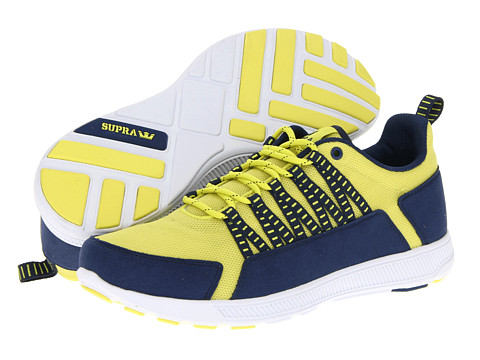 Adidasi Supra - Owen - Acid Yellow/Navy
