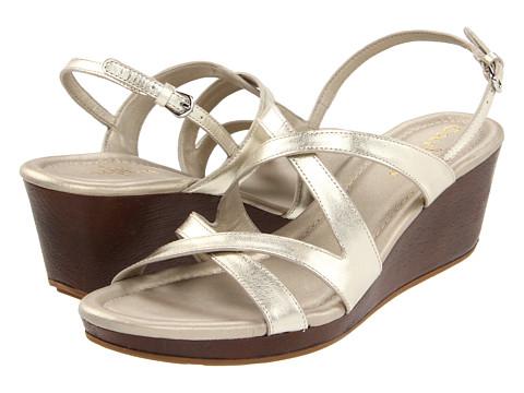 Sandale Cole Haan - Air Jaynie Sandal - White Gold Metallic