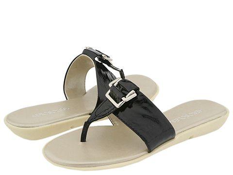 Sandale Aerosoles - Savvy - Black Patent