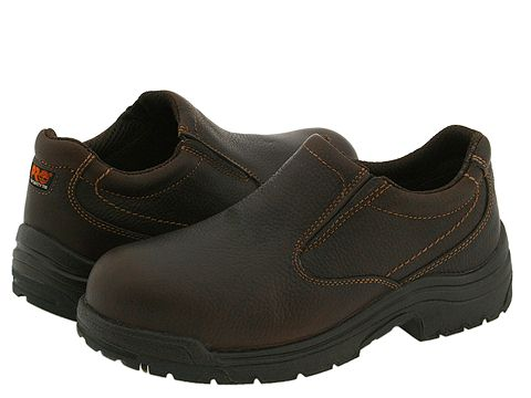 Adidasi Timberland - TiTAN® Slip-On Safety Toe - Camel Brown Oiled Full-Grain Leather