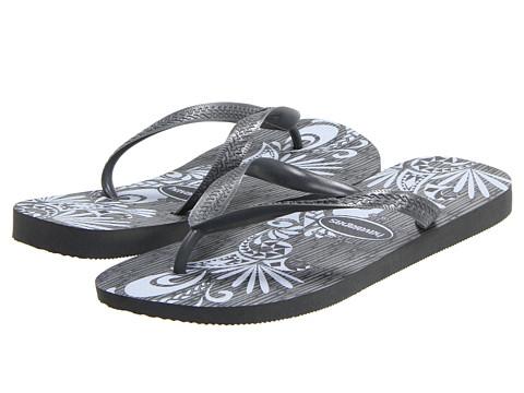Special Vara Havaianas - Aloha Flip Flops - Dark Grey/Grey