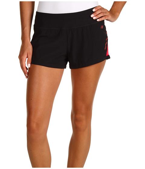 Pantaloni New Balance - NBx Prism Run Short - Black/Virtual Pink