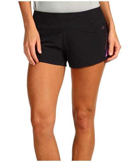 Pantaloni New Balance - NBx Prism Run Short - Black/Dewberry