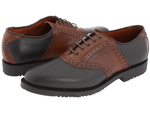 Pantofi Allen-Edmonds - The Links - Black/Brown Trim
