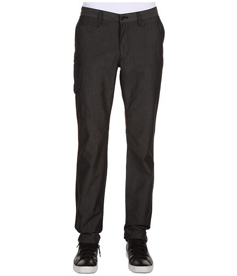 Pantaloni John Varvatos - Side Patch Pocket Slim Pant w/ Front Coin Pocket - Black