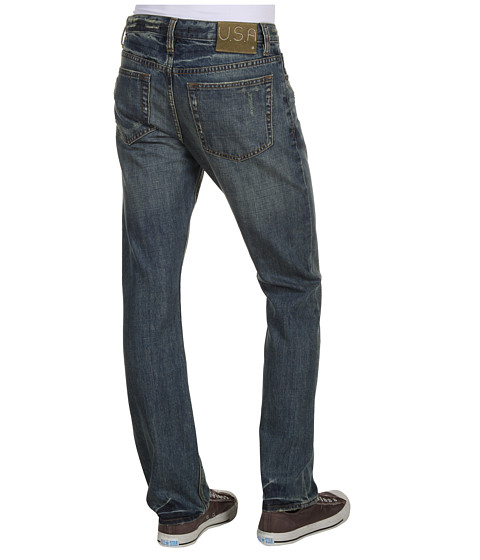 Blugi John Varvatos - Wight Slim w/ Suspender Button Detail in Indigo - Indigo