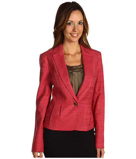 Sacouri Anne Klein - Slubby Texture Jacket - Blush