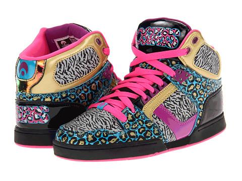 Adidasi Osiris - NYC83 Slim - Black/Pink/Wild