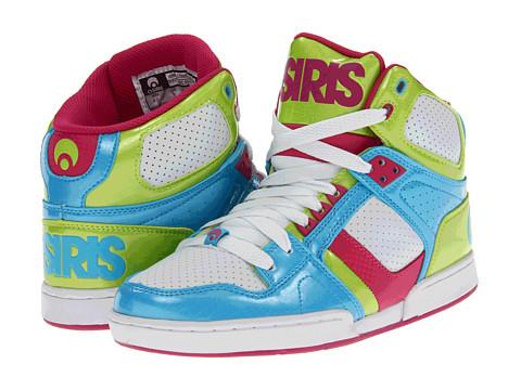 Adidasi Osiris - NYC83 Slim - Cyan/Lime/Berry