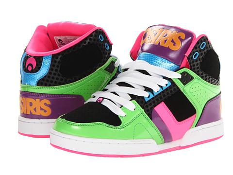 Adidasi Osiris - NYC83 Slim - Green/Black/Purple