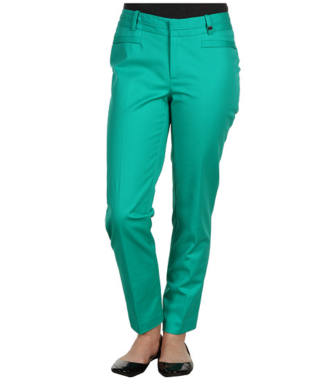 Pantaloni Calvin Klein - Petite Slant Pocket Pant P2BL0264 - Caribbean