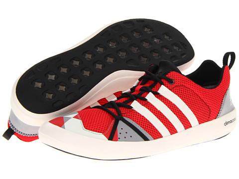 Adidasi adidas - Boat CC Lace - Vivid Red/Chalk/Aluminum 2