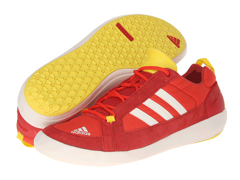 Adidasi adidas - Boat Lace DLX - Hi Res Red/Chalk/University Red