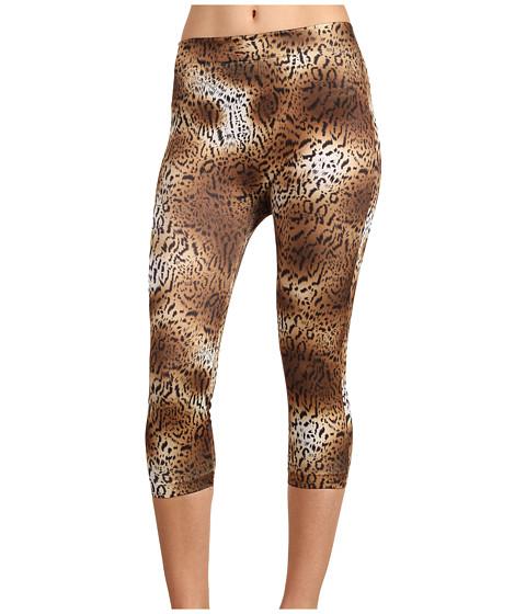 Pantaloni Gabriella Rocha - Rita Print Legging - Brown Animal Print