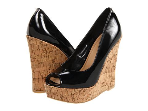 Pantofi Diba - Red Rose - Black Patent