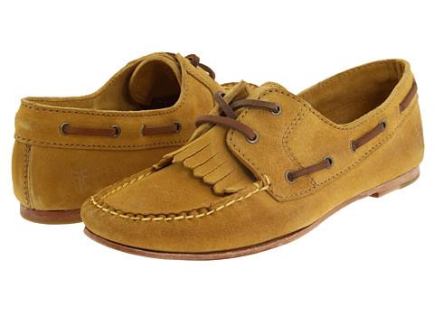 Pantofi Frye - Wendy Lace Moc - Mustard