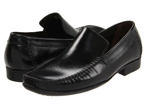 Pantofi Bostonian - Charring - Black Leather
