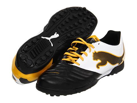 Adidasi PUMA - PowerCat 3.12 TT - Black/White/Team Yellow