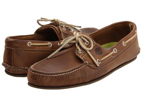 Pantofi Timberland - Classic 2 Eye - Burn Tan