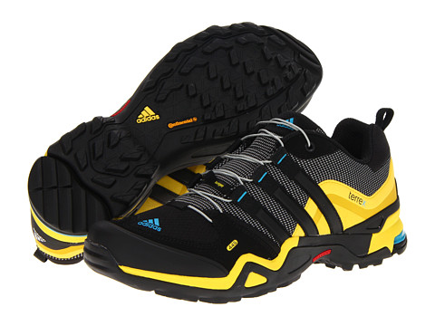 Adidasi adidas - Terrex Fast X - Grey Rock/Black/Vivid Yellow