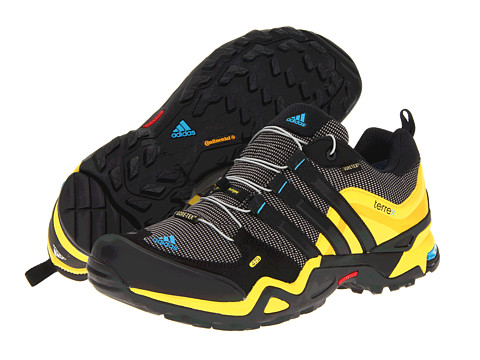 Adidasi adidas - Terrex Fast X GTX - Grey Rock/Black/Vivid Yellow