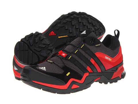 Adidasi adidas - Terrex Fast X GTX - Sharp Grey/Black/Vivid Red