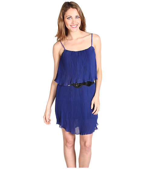 Rochii Type Z - Abel Chiffon Dress - Blue