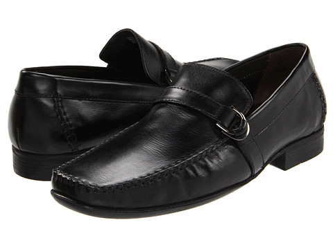 Pantofi Bostonian - Burnwood - Black Leather
