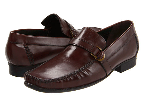 Pantofi Bostonian - Burnwood - Dark Tan Leather