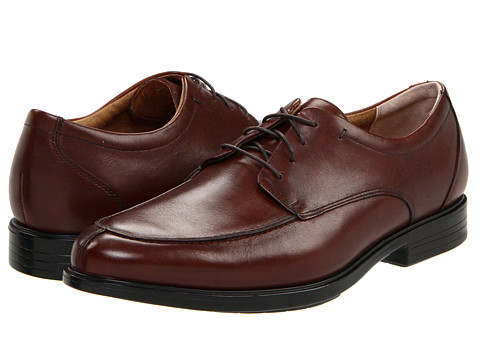Pantofi Bostonian - Advance Lace Up - Brown Leather