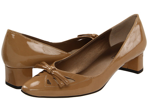 Pantofi Vaneli - Helma - Nude Smack Metallic Patent