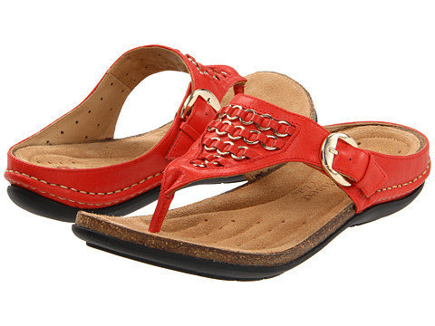 Sandale Clarks - Un.Glow - Red Leather