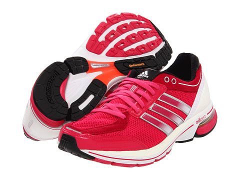 Adidasi Adidas Running - adiZeroâ⢠Boston 3 W - Bright Pink/Running White/Metallic Silver