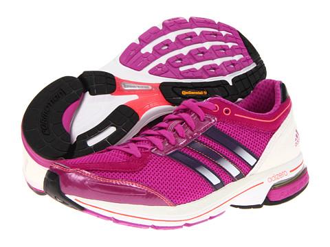 Adidasi Adidas Running - adiZeroâ⢠Boston 3 W - Vivid Pink/Dark Violet/Red Zest