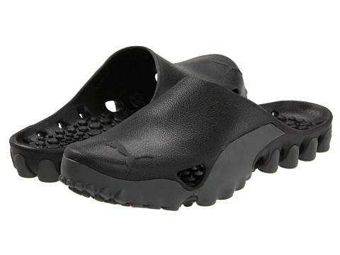 Adidasi PUMA - Leap Slip-On - Dark Shadow/Black