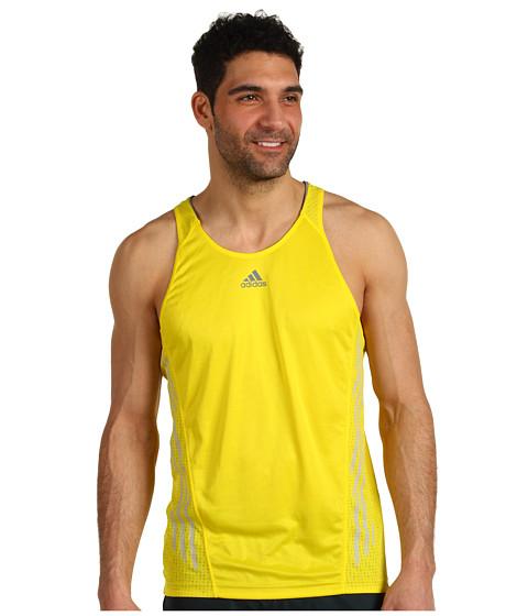 Tricouri adidas - supernovaâ⢠Singlet - Vivid Yellow/Tech Grey